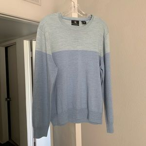 Calvin Klein Blue Colorblocked Sweater
